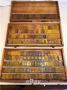 14.5 line Helvetica Light letterpress wood type