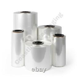 14 CF Polyolefin Heat Shrink Wrap Film, Choose gauge from 5830 ft to 2625 ft