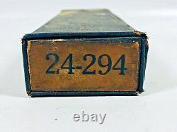 1890's 24 point 294 Lanston Monotype Machine Co Printers LetterPress Box Set