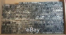 23pt Shnixgun Font Letterpress Letters Metal Typeset 14 Lbs