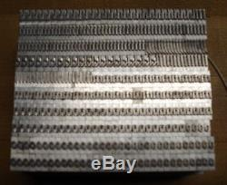 24 Point Font Lead Metal Letterpress Type Unidentified Gothic Style Brand New