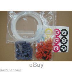 4 Bottles, 8 Cartridges Mimaki Bulk Ink System for Mimaki JV5 / JV33 / JV3