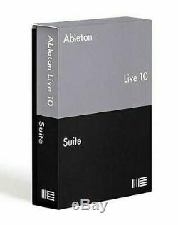 Ableton Live 10 Suite for mac Lifetime activation Instant delivery