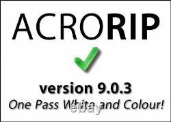 AcroRIP 9.0.3 full version for DTG UV Printer Multiple language versions