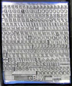 Alphabets Letterpress Print Type 18pt Fournier le Jeune ML64 5#