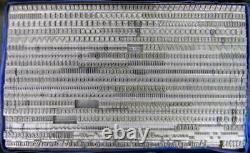 Alphabets Letterpress Print Type Import 12pt Post Mediaeval MN65 6#