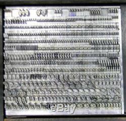 Alphabets Letterpress Print Type Import Bauer 18pt Legende MM44 6#