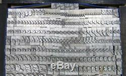 Alphabets Letterpress Print Type Import Bauer 42pt Charme Didot MM49 12#