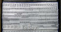 Alphabets Metal Letterpress Print Type 24pt Baskerville Italic ML05 7#