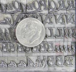 Alphabets Metal Letterpress Print Type 30pt Garamont Italic ML29 4#