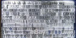 Alphabets Metal Letterpress Print Type Import MTF 18pt Perpetua Bold MN07 6#