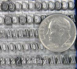 Alphabets Metal Letterpress Print Type Import SB 18pt Perpetua Italic MM03 6#