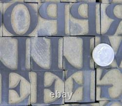 Alphabets WOOD Letterpress Type Page & Co 6line 1 Old Style MW14 2