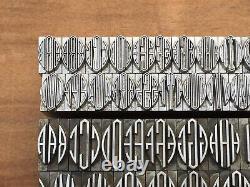 Antique ATF Virkotype Monograms Initials Letterpress Print Type Letter Part Sets