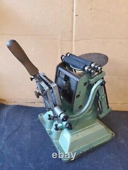Antique B. Grauel & Co 3x4 Letterpress Tabletop Printing Press
