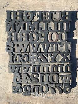 Antique Columbian Wood Type Letterpress 8 Pica Vandercook Press