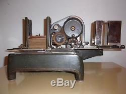Antique Office Address Printer The Elliott Addressing System Cast Iron Press