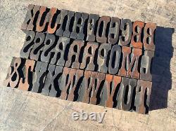 Antique William Page Wood Type Letterpress 8 Pica Vandercook Press