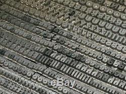 Bernhard Gothic Extra Heavy 14 pt Letterpress Type Vintage Metal Lead