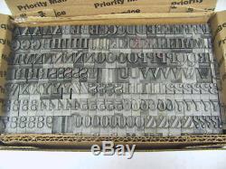 Bodoni Bold 48pt 24 lbs Printers Type Letterpress Type