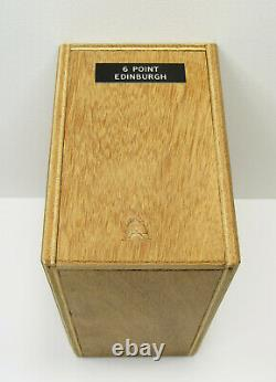 Bookbinding Brass Handle Letters Edinburgh #6 Brass Hand Type 40-Piece Boxed Set