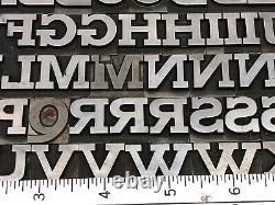 Boston Breton 60 pt. Letterpress Metal type Printers Type