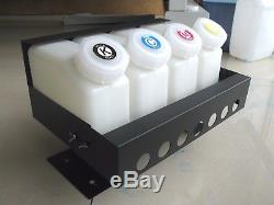 Bulk Continuous Ink Supply System For Mimaki jv33/jv3 /JV5 4 bottles, 8 Cartridge