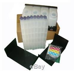 Bulk Ink Supply System +Vertical Cartridges For Roland RA-640 /RE-640/VS-640