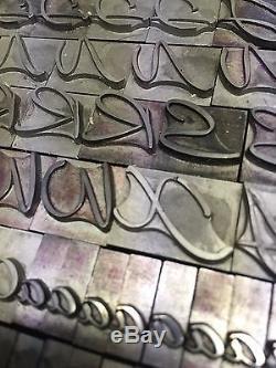 Caprice 48 pt Letterpress Type Printer's Metal Lead Type