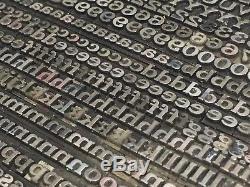 Cheltenham Extended 18 pt Letterpress Type Vintage Printer's Lead Metal