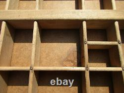 Collectible KELSEY Excelsior Type Case + Large Lot of Hard Alloy Serif Type