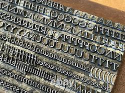 Colwell Handletter Italic Letterpress Rare Foundry Type Font 24 Point Elizabeth