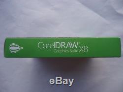 Corel Draw Graphics Suite X8 Windows New Sealed