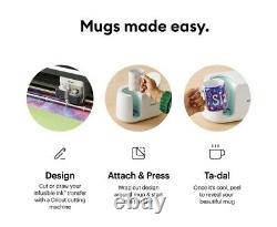Cricut Mug Press Brand New in Sealed Box Worldwide Shipping