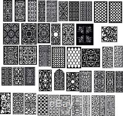 DXF of PLASMA ROUTER Laser Cut -CNC Vector DXF- Art file 700 ITEMS