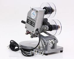 DY-8 Direct Thermal Foil Stamp Printer coding machine Date Ribbon coder 60W 220V