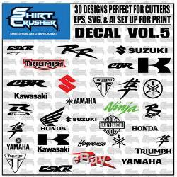 Decal Master vol. 1 /T-SHIRT DESIGN CLIP ART/ SVG EPS AI DECALS & T-SHIRTS