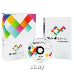 Digital Factory Version 10 OKI Edition RIP Software by CADlink Ideal For T-Shirt