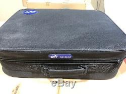 EFI ES-2000 Spectrophotometer with case very low usage