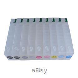 Empty Refillable Ink Cartridge For Epson Stylus Pro 3880/3885/3800/3850/3890-9pc