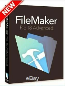 FileMaker 18 Pro Advanced Windows/Mac OS Lifetime Multilingual Full Licence Key