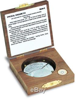 Forestry Suppliers Spherical Crown Densiometer Convex Model A