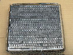 Garamay 18 pt. Letterpress Metal type Printers Type Caps