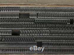 Garamond Italic 14 pt Metal Type Printers Type Letterpress Type