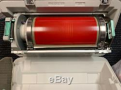 Genuine Riso RP Ledger Color Drum (W) Bright Red with Carrying Case