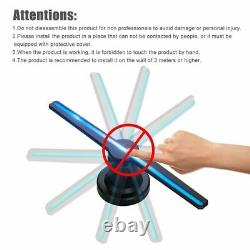Glassless 3D Air Holographic Projector Hologram Player Lamp Advertising LEDs