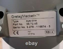 GretagMacbeth Eye One Pro Photo Color Management System Rev A