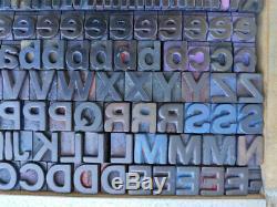Helvetica Letterpress wood type 18mm printing blocks wooden letters adana