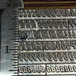 Highspot 18 pt Letterpress Type Vintage Metal Lead Printing Sorts Font
