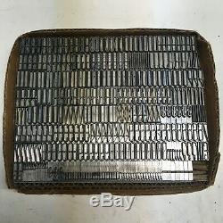 Huxley Vertical 36 pt ATF 598 Letterpress Type Vintage Metal Lead Sorts Font